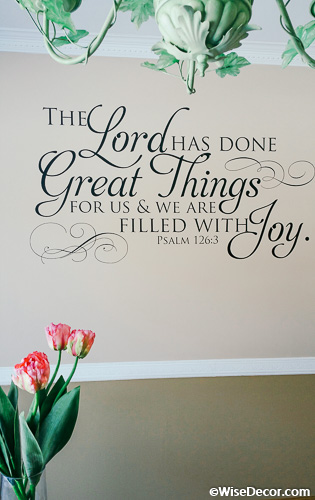 Psalm 126 3 The Lord Has Done Great Things For Us