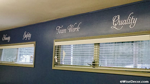 See Great Decorating Ideas With Wisedecor Decorative Lettering