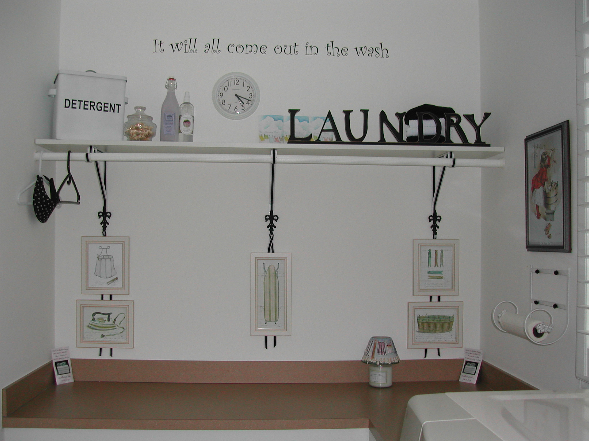 Best Laundry room Wall Lettering & Wall Decors on Laundry Decoration  id=85366