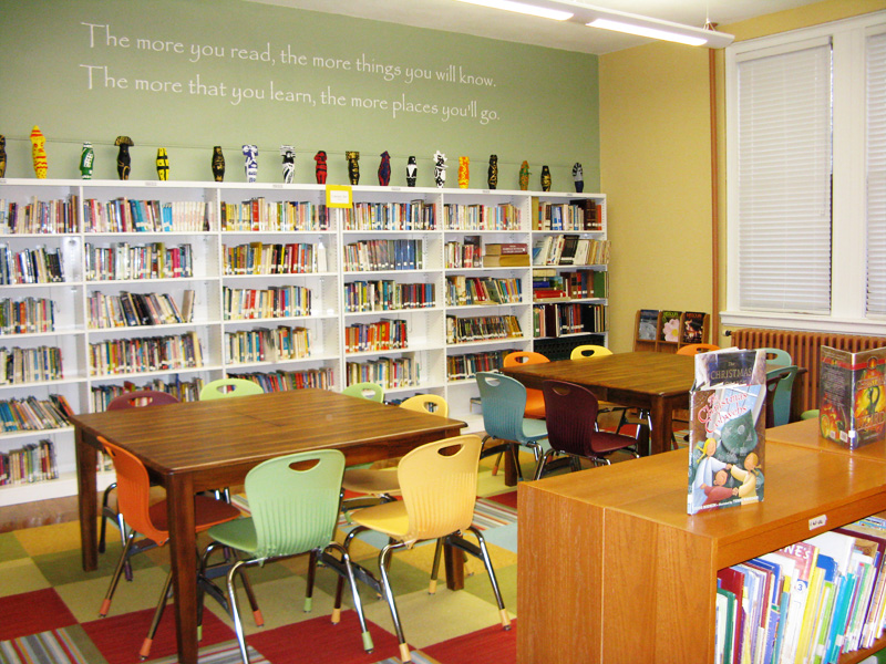 School library books quotes quotesgram Small library room design ideas