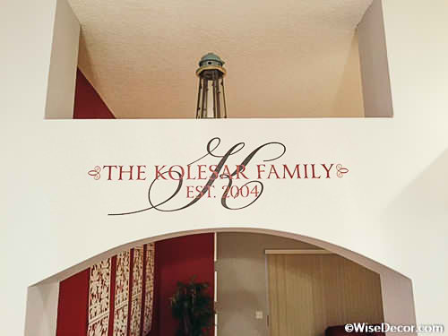Your Favorite Wall Letters, Words, Quotes U0026 Decals Can Personalize Your  Decor Instantly!