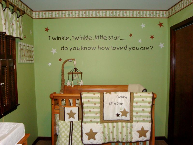 Decorate Your Baby S Nursery Le Little Star Do You Know How Loved Are