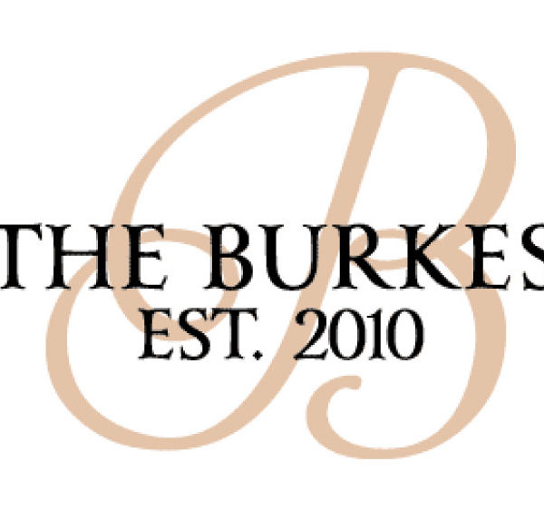The Burkes Est. 2010 - Family Established Modern Wall Decal