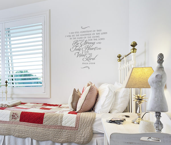 I am still confident of this: I will see the Wall Decal