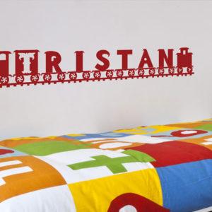 Tristan - Name Train Custom Wall Decal