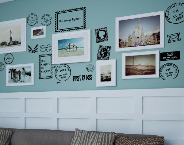 US cities travel prev Wall Decal