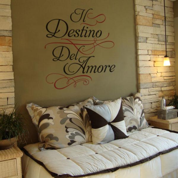 Il destino del amore Wall Decal