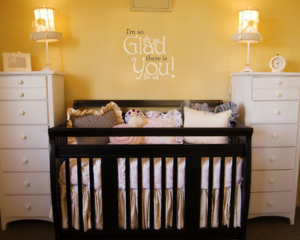 I'm So Glad There Is You! Wall Decal