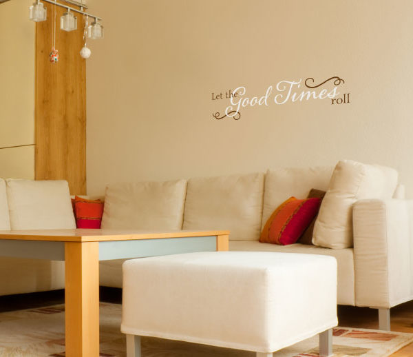 Let the Good Times Roll Wall Decal