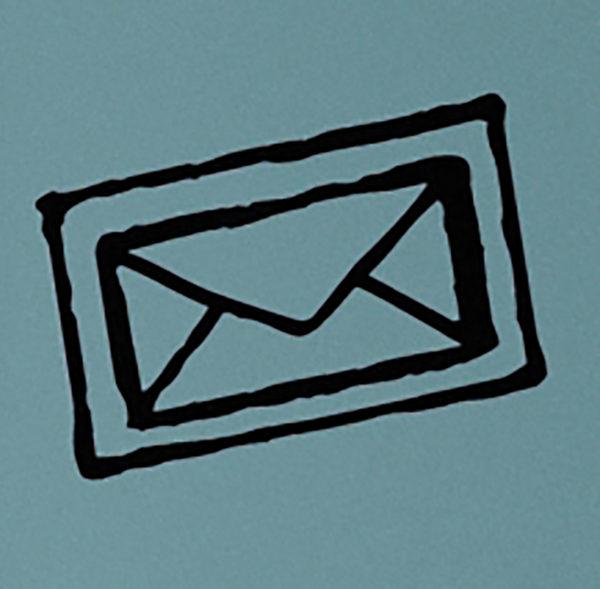 Envelope Stamp Wall DecalEnvelope Stamp Wall Decal