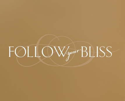 Follow Your Bliss Wall Decal