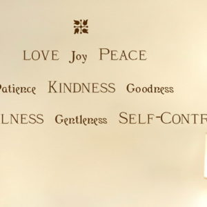 Love Joy Peace Patience Kindness Goodness Faithfulness Gentleness Self-control Wall Decal