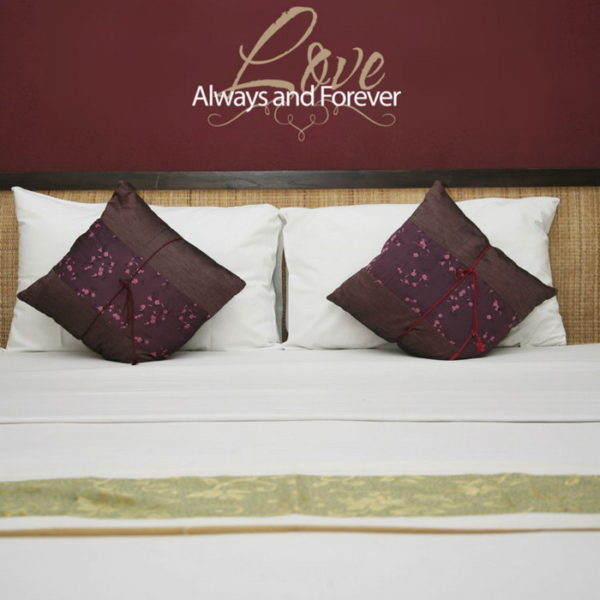 Love. Always and Forever Wall Decal