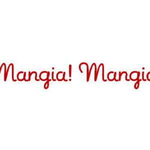 Mangia! Mangia! Wall Decal