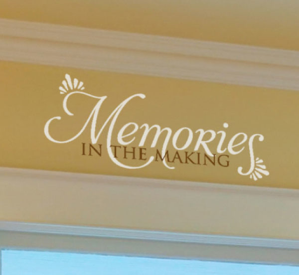 Memories in the Making Wall Decal