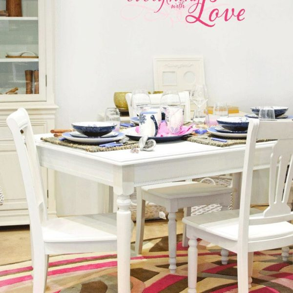 Season Everything with Love Wall Decal