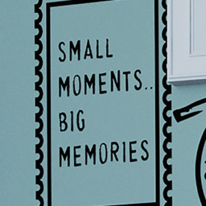 Small Moments.. Big Memories Wall Decal