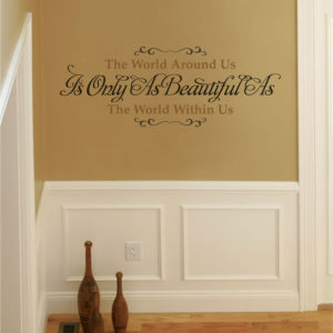 The World Around Us Wall Decal