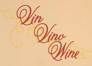 Vino Vino Wine Wall Decal