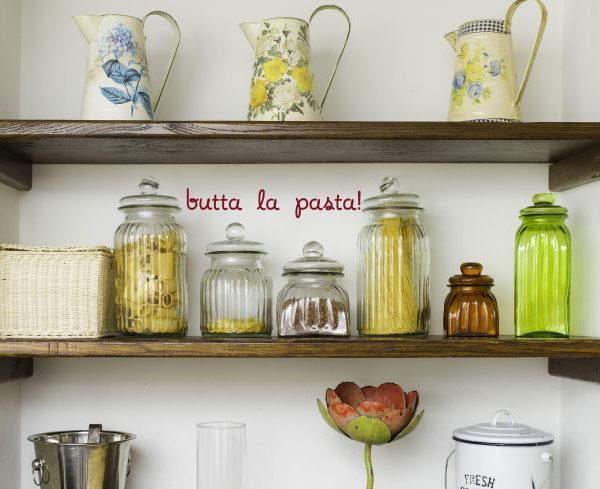 Butta La Pasta Wall Decal