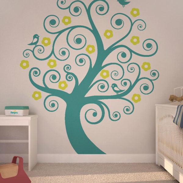 Giving Tree Wall Decal