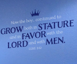 Now the Boy Continued to Grow Both in Stature Wall Decal