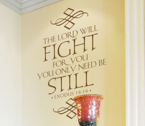 The World Will Fight for You Wall Decal