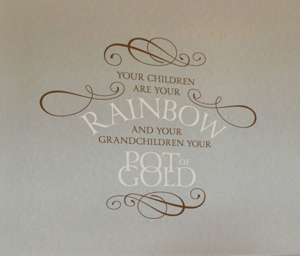 Your Children are Your Rainbow Wall Decal