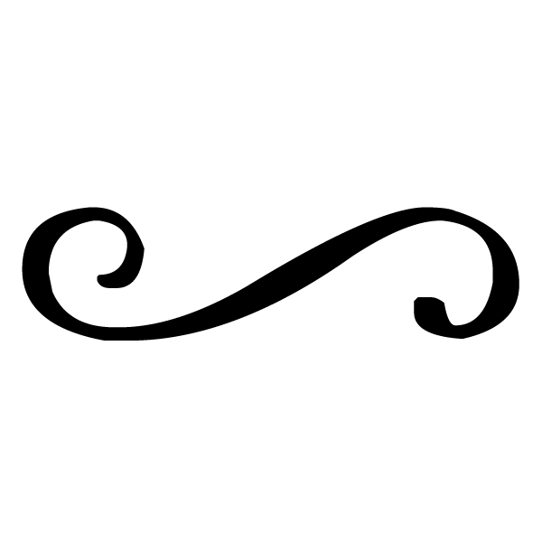 Swirl Lettering Art 1 A Wall Decal