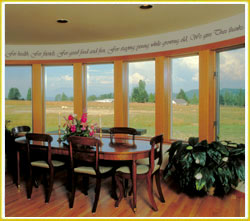 give your dining area meaning with words of thanks
