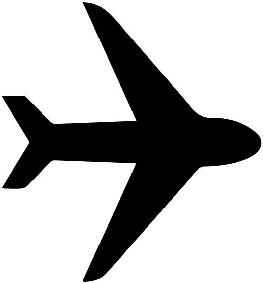Airplane Silhouette 4A LAK 16 B Aviation Wall Decal
