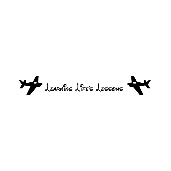 Learning Life's Lesson Wall Decal