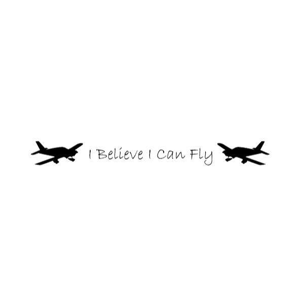 I Believe I Wall Decal