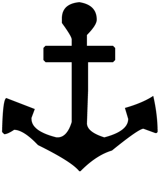 Anchor Lettering Art 5 5 Wall Decal