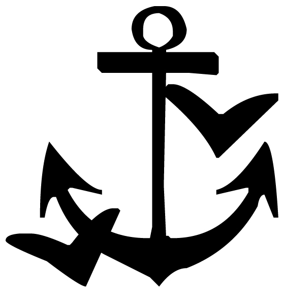 Anchor Lettering Art 5 d Wall Decal