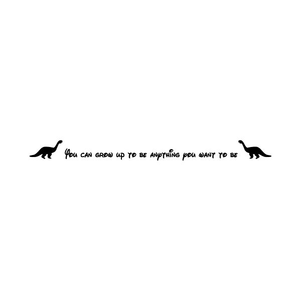 You can grow Wall Decal