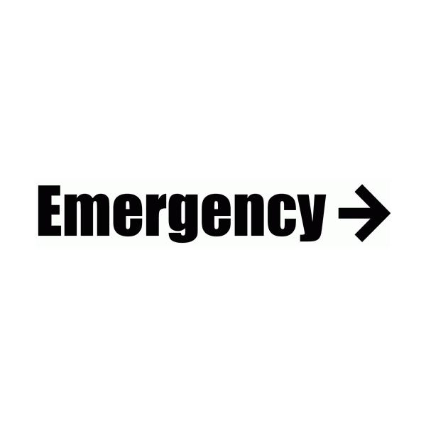 Emergency Wall Decal