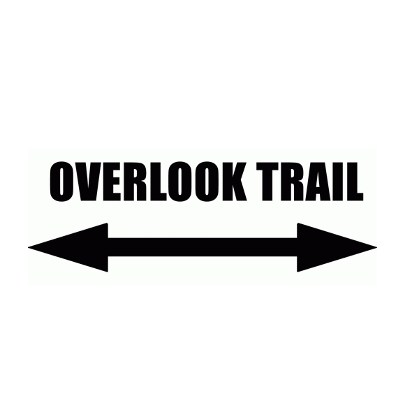 Overlook Trail Wall Decal