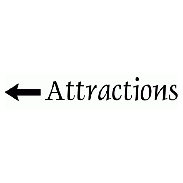 Attractions Wall Decal