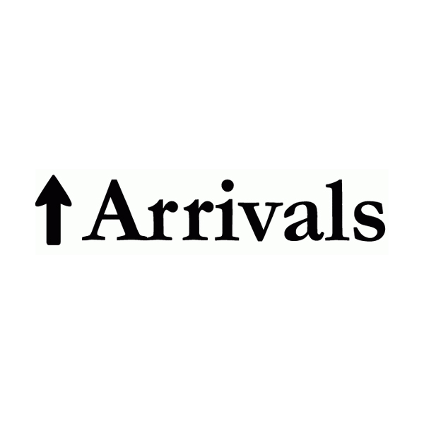 Arrow Thirteen Pointing Up Lettering Art 17-O Wall Decal