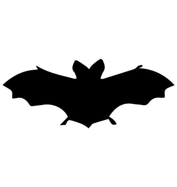 Bat Silhouette LAK 14 Z Animal Wall Decal