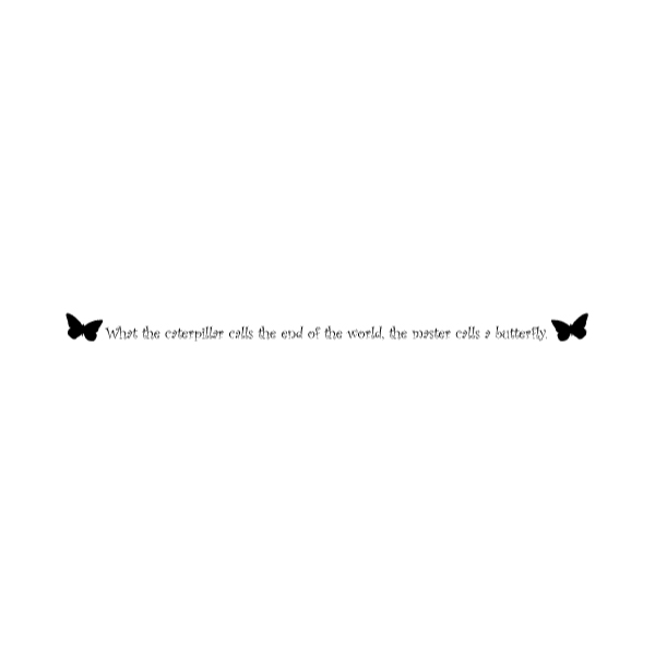 What the caterpillar Wall Decal