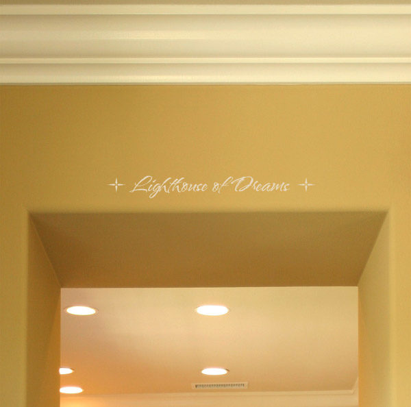 Lighthouse of Dreams Wall Decal