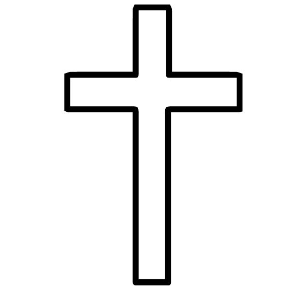 Cross 15 Lettering Art 16-R Wall Decal
