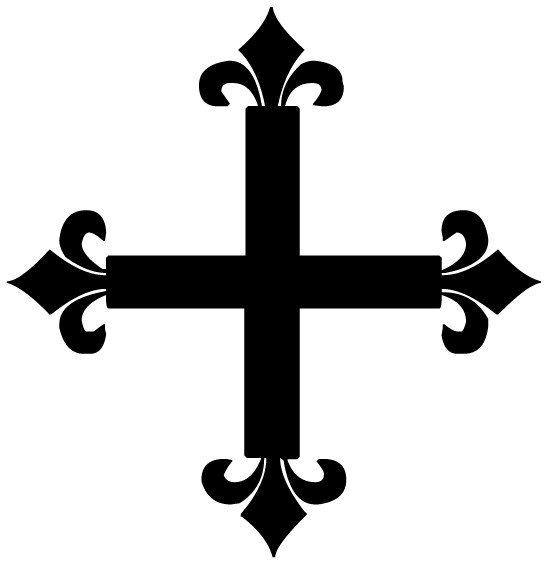 Cross 28 Lettering Art 16-p Wall Decal