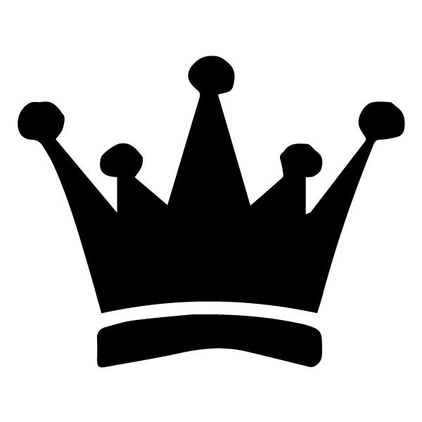 Crown 2 LAK 13 D Prince Princess Camelot Wall Decal