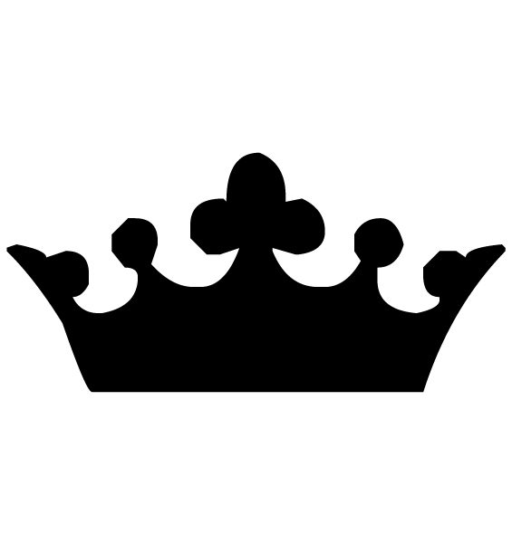 Crown Lettering Art 3-1 Wall Decal