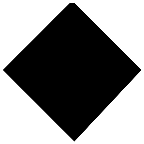 Diamond Motif Lettering Art 6-2 Wall Decal