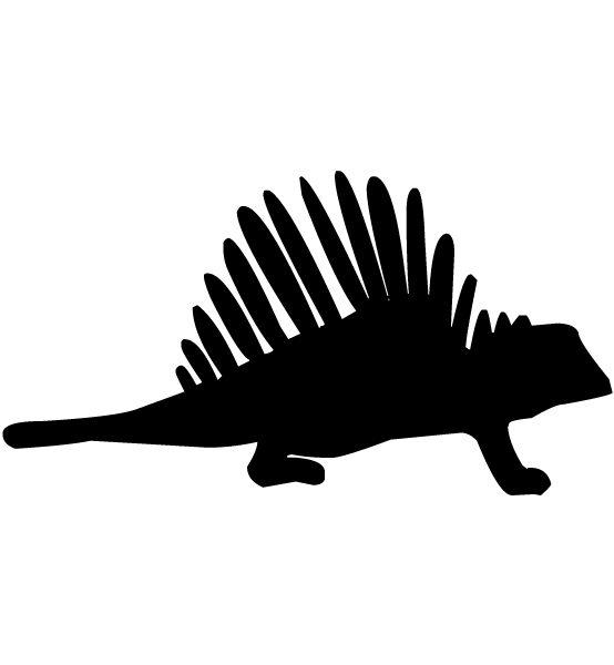 Dinosaur Silhouette LAK 14 c Animal Wall Decal