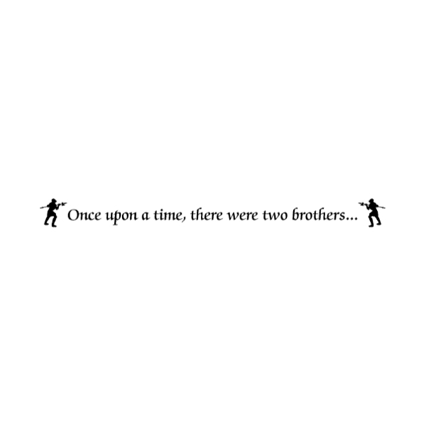 Once upon a Wall Decal